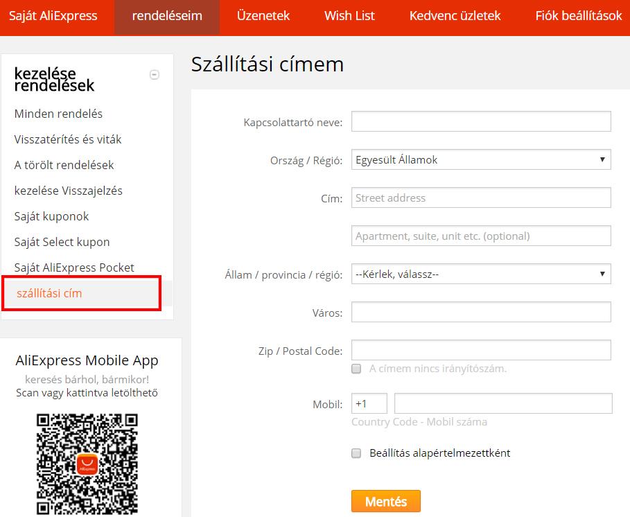 Aliexpress regisztráció 5